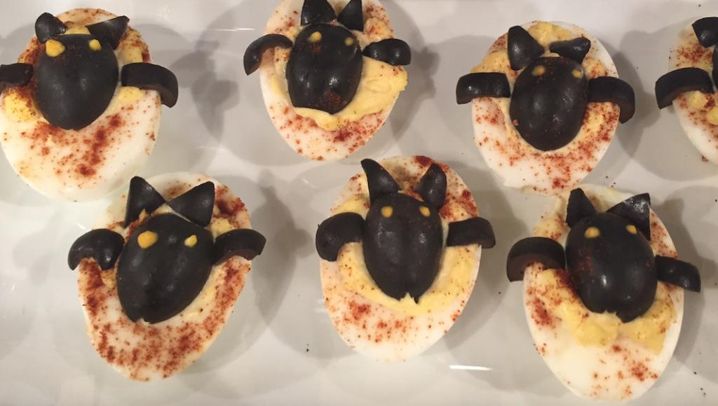 Deviled egg Bats
