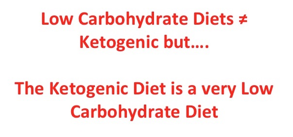 ketogenic and low carbohydrate diets