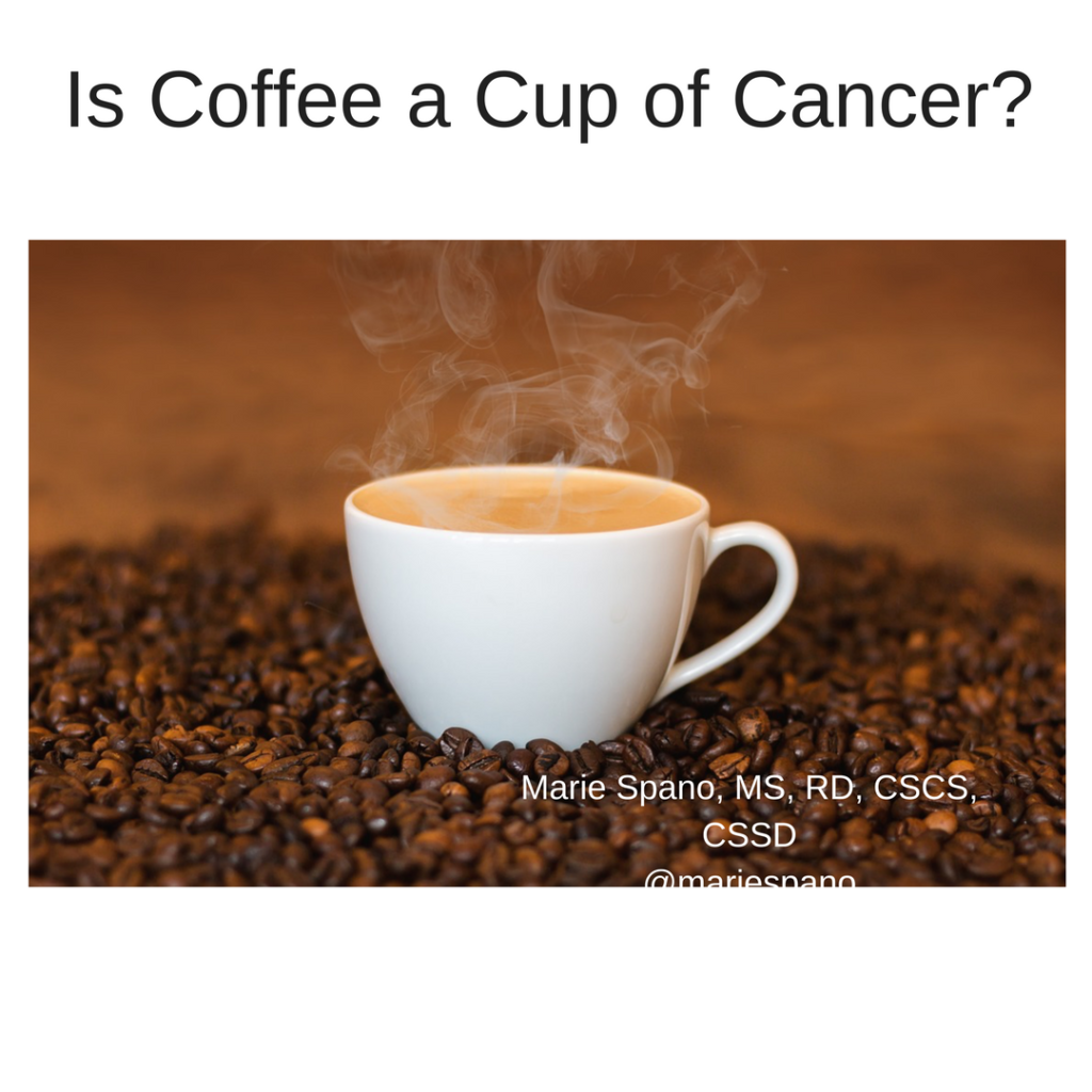 Coffee & Acrylamide: Cup of Cancer?